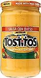 tostitos sauce - Tostitos Salsa Con Queso - Medium, 23 Ounce