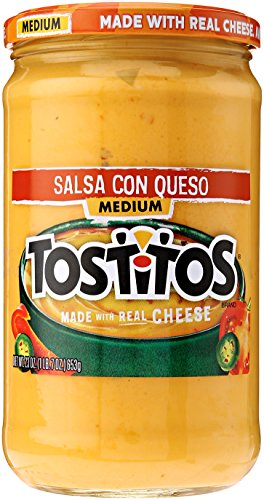 Tostitos Salsa Con Queso - Medium, 23 Ounce