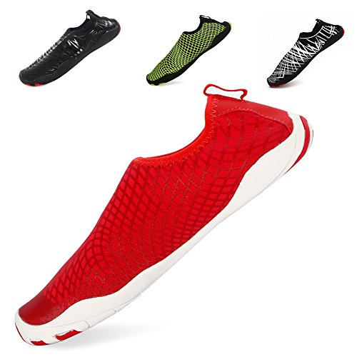 Evaric Water Swimming Shoes, Barefoot Soft Yoga Shoes, Men Women Beach Shoes for Boating Walking Home Quick Dry