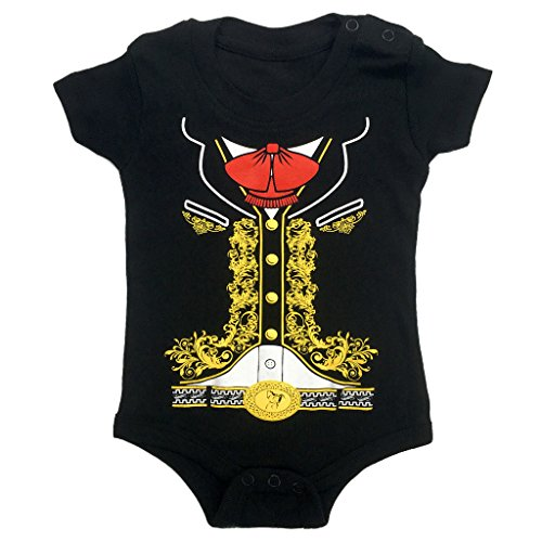 Viva Mexico Baby Bodysuit Mariachi Halloween Costume T-Shirt 6 Months -