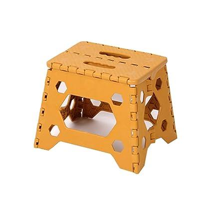 DGFDDFH Taburete Taburete Plegable para Escalones, Plástico ...