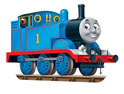 Ravensburger Thomas The Tank Puzzle - Ravensburger Thomas & Friends: Thomas The Tank Engine 24 Piece Shaped Floor Jigsaw Puzzle for Kids – Every Piece is Unique, Pieces Fit Together Perfectly