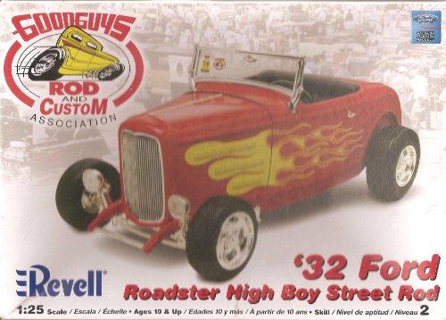 アメリカレベル 1/25 グッドガイズ 32 フォード ハイボーイ 02893 プラモデル
