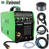 MIG Welder - REBOOT MIG Welder MIG-175 Gas/Gasless DC 220V 1KG/5KG 2 in 1 Flux Core Wire And Solid Wire IGBT Inverter Welding Machine MMA MIG MAG Stick Welder ...