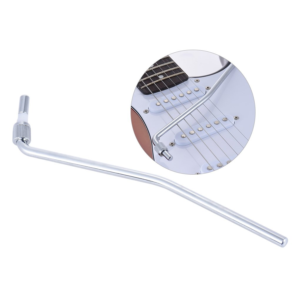 ammoon Guitarra Eléctrica Trémolo Trem Vibrato Brazo Whammy Bar manivela Palanca para Floyd Rose puente System, plateado: Amazon.es: Instrumentos musicales