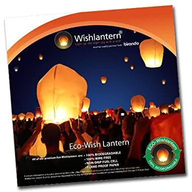 Eco White Wishlantern® (Pack of 10)