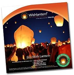 Eco White Wishlantern(Pack of 10)