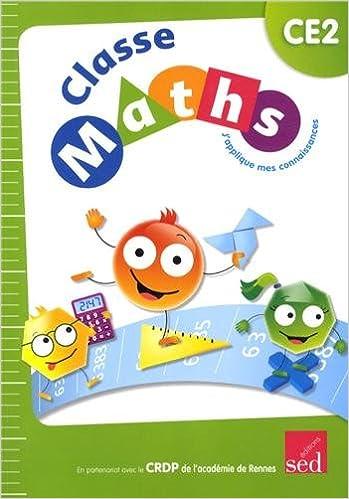 En ligne téléchargement Classe Maths CE2 : J'applique mes connaissances pdf