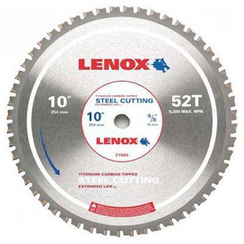 Disco Sierra LENOX Corte de acero 10i 52T (21886ST100052CT