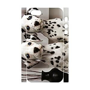 Cool Painting Dalmatian Customized 3D Cover Case for Iphone 5,5S,custom phone case case-299378