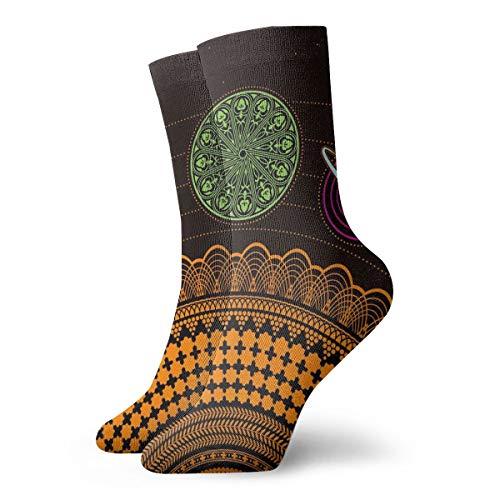 - Unisex Tube Socks Crew Solar System Over Calf Comfort Stockings For Sport Travel