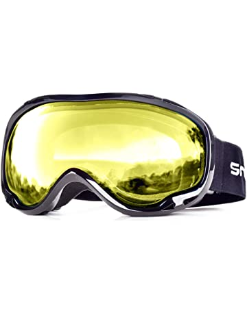 c7bfc5740dd Snowledge Ski Snowboard Goggles with UV400 Protection