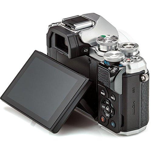 Olympus OM-D E-M10 Mark III (Mark 3) Digital Camera [Silver] + M.Zuiko Digital ED 14-42mm f/3.5-5.6 EZ Lens (Silver) + M.Zuiko Digital ED 40-150mm f/4.0-5.6 R Lens (Silver) by Olympus (Image #4)