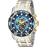Invicta Men's 'Disney Limited Edition' Quartz Two Tone Casual Watch