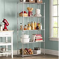 Deals on Wayfair Basics 72H x 36W 5 Shelf Wire Shelving Unit