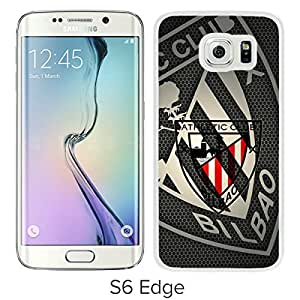 New Fashion Custom Designed Skin Case For Samsung Galaxy S6 Edge With Athletic de Bilbao White Phone Case 1