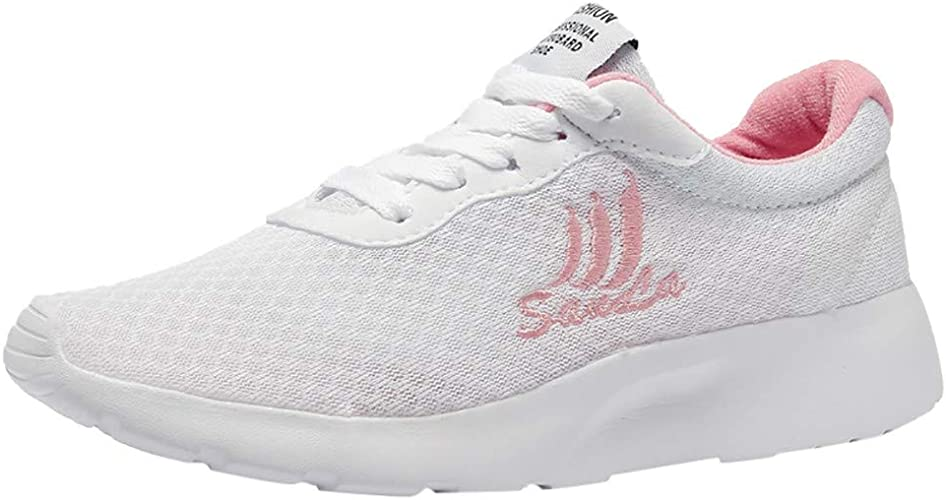 FAMILIZO Zapatillas Mujer Running Zapatillas Deportivas De Mujer Sneakers Women Primavera Moda Mujer Casual Zapatillas De Malla Respirable Zapatos De Running para Estudiantes: Amazon.es: Zapatos y complementos