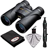 Nikon Monarch 5 ED ATB Waterproof/Fogproof Binoculars with Case + Cleaning & Accessory Kit
