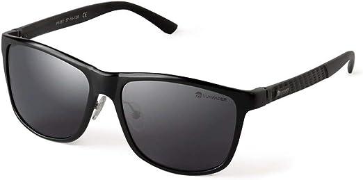 SUNFADER Gafas de sol 2020 para hombre y mujer, lentes polarizadas Desing Itaiano, montura de metal ligera y elegantes