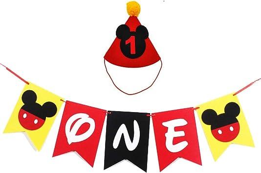 Amazon.com: Mickey Mouse suministros de fiesta de primer ...