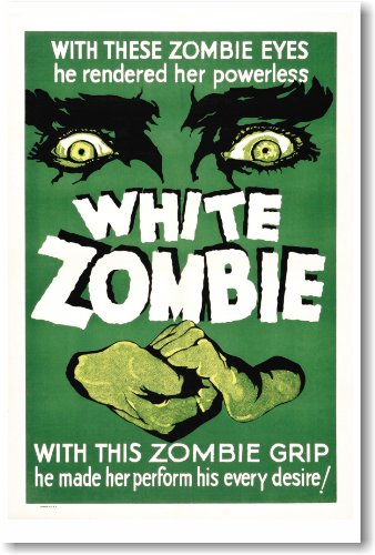 White Zombie - NEW Vintage Movie Poster