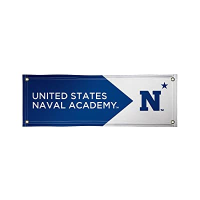 Victory Corps 810022NAVY-003 Navy Midshipmen 2' x 6' Vinyl Banner : Sports & Outdoors