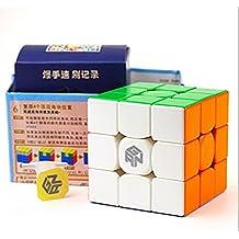 Kingcube Gan 357 stickelress Magic cube 3x3 Gans 357 Speed cube