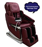 JSB MZ15 Full Body Massage Chair with Powerful 3D Back and Leg Massage (Red)
