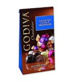 Godiva Chocolatier Wrapped Assorted Classic Chocolate Truffles, 12 Count (Pack of 12)