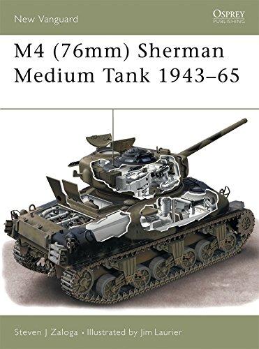 (M4 (76mm) Sherman Medium Tank 1943–65 (New Vanguard))