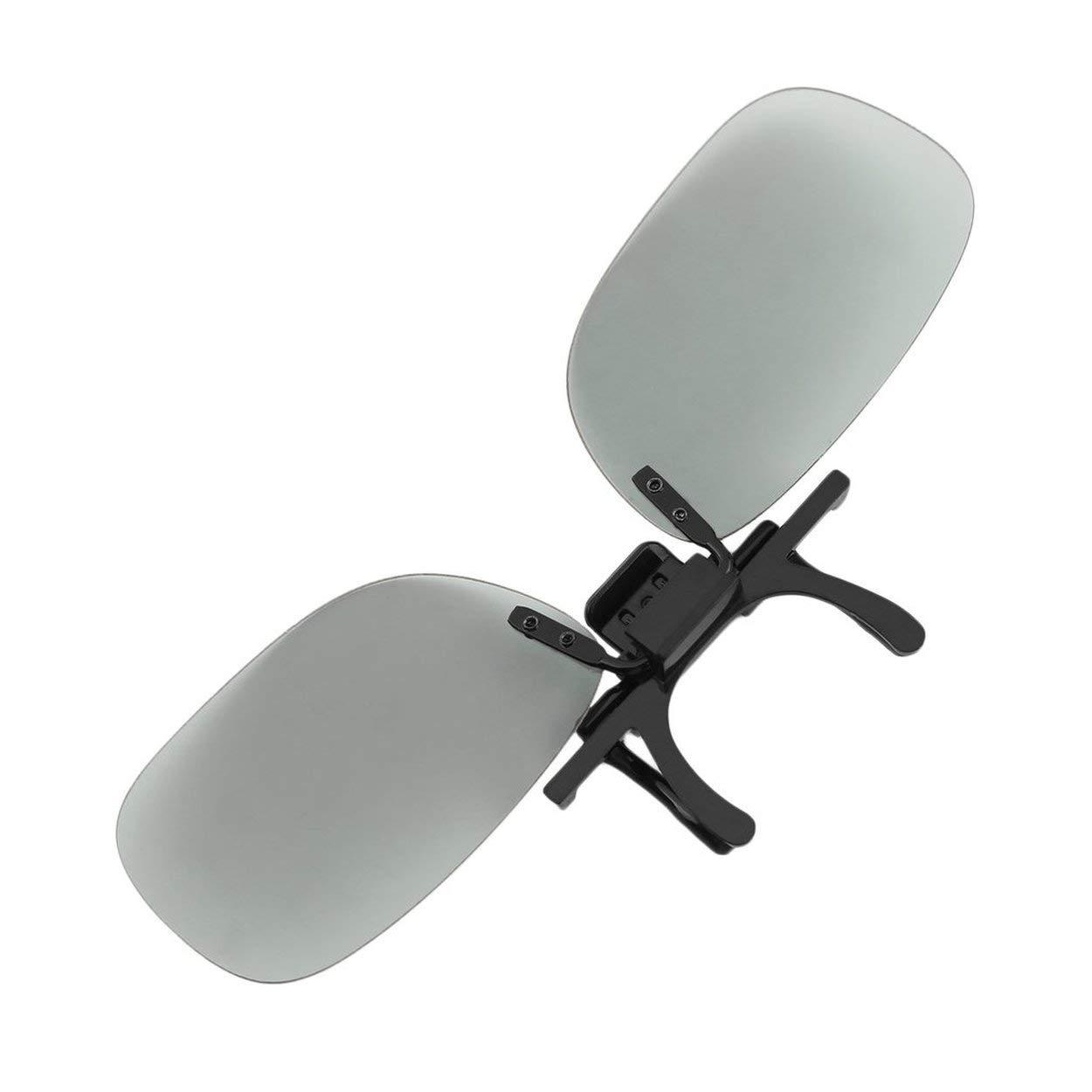 Clip 3D de Peso Ligero para Mujer y Hombre Profesional Tipo pasivo Clip de Gafas 3D Circulares para Cine de TV en 3D: Amazon.es: Deportes y aire libre