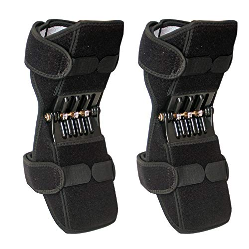 YWHSM Rebound Spring Force Power Enhancer Leg Knee Booster Brace Cover Joint Support for Knee...