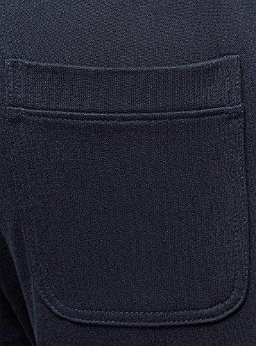 Bleu Oodji Homme Maille Pantalon 7903n Basique Ultra En x1Yzwx