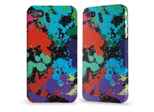 """Hülle / Case / Cover für iPhone 4 und 4s - """"Klekse"""" von caseable"""