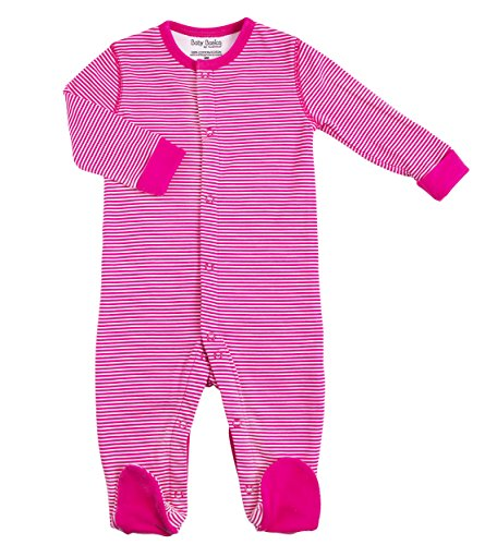 Kushies Cotton Pajamas Footed Sleeper