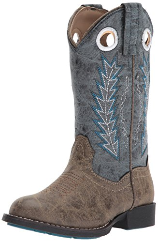 ROPER Boys' Hole in The Wall, Blue, 3 M US Little Kid (Boys Size 3 Cowboy Boots)