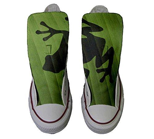 Handwerk Star Converse Customized Hi Schuhe personalisierte Schuhe Converse All Rana xvwwYqH4