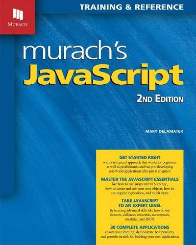 Murachs JavaScript ISBN-13 9781890774851