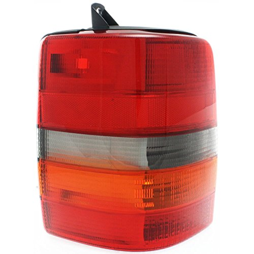 (Tail Light for Jeep Grand Cherokee 93-98 Lens and Housing Left Side)