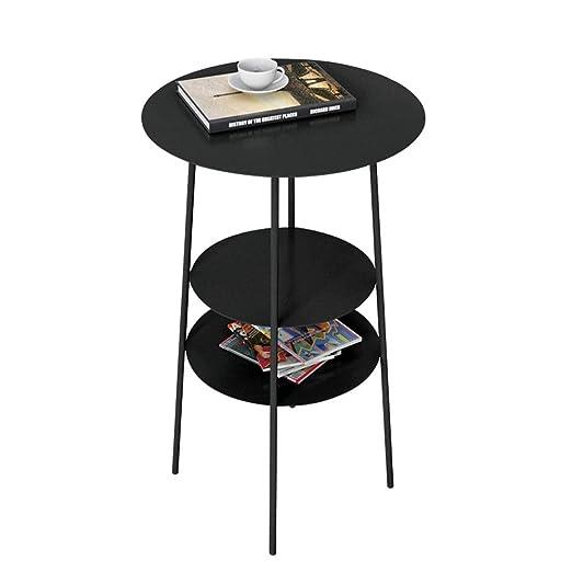Mesa Auxiliar Nivel 3 Snack-metal pequeña mesa de centro mesa de ...
