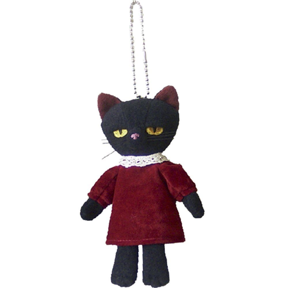 入荷中 ミヌー 赤ドレス 赤ドレス ボールチェーン付きマスコット 猫 高さ12cm 高さ12cm 猫 赤ドレス B005XFPBOC, 出産祝い 誕生日祝い えがおギフト:26ab017c --- yelica.com