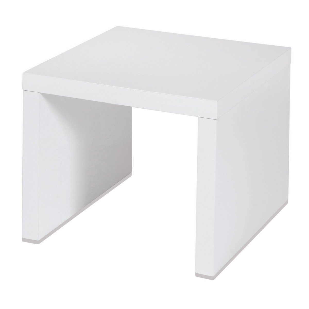 Side table in white high gloss amazon kitchen home aloadofball Gallery