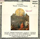 Handel Messiah A Sacred Oratorio LP L'oisseau-Lyre, 3 LP Records, Choir of Christ Church Cathedral Oxford, Nelson, Kirby, Watkins, Elliott, Thomas, Academy of Ancient Music, C Hogwood - Florilegium Series