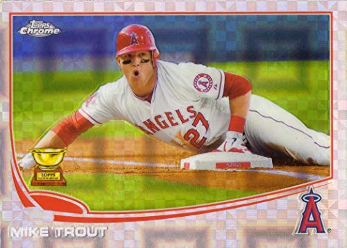 Amazoncom 2013 Topps Chrome Xfractor 1 Mike Trout Baseball Card