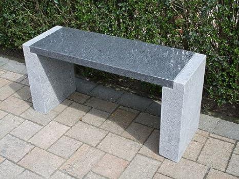 piedra natural piedra Banco de jardín muebles de jardín banco Granito * guade Loup *: Amazon.es: Jardín