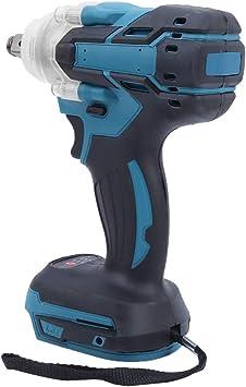 Avvitatore a impulsi quadrato a batteria senza spazzole 21V Impugnatura antiscivolo a torsione grande ricaricabile per batteria Makita