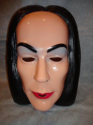 The Addams Family Morticia PVC Mask Child Size Rubies Halloween Dress (Morticia Child Costumes)