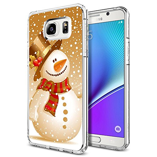 sports shoes 85f9d 1f04f Note 5 Case Christmas Design Holiday snowman, LAACO Scratch Resistant TPU  Gel Rubber Soft Skin Silicone Protective Case Cover for Samsung Galaxy Note  ...