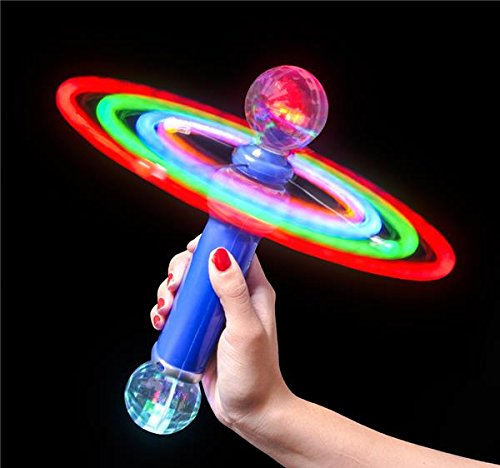 DollarItemDirect 10.5 inches Double-Ball Magic Spinning Wand, Case of 30