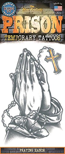 (Praying Hands Temporary Tattoo)